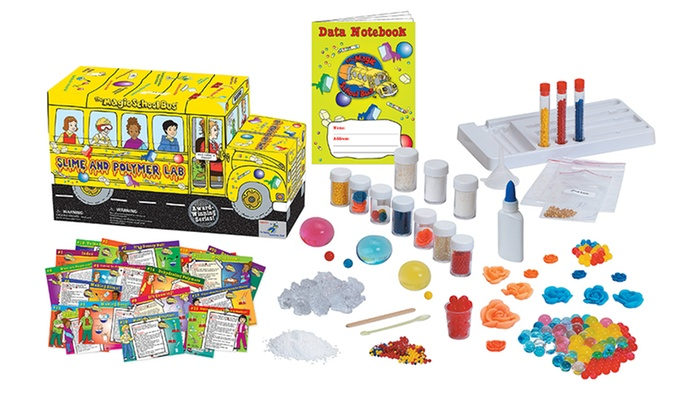 The Magic School Bus Kids' Slime and Polymer Lab Kit: The Magic School Bus Kids' Slime and Polymer Lab Kit. Free Returns.