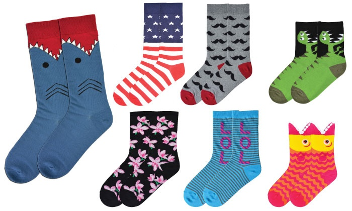 K. Bell Socks: $9.99 for $25 Worth of Socks, Tights, and Leggings from K. Bell Socks