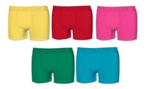 5 boxers Freegun en coton