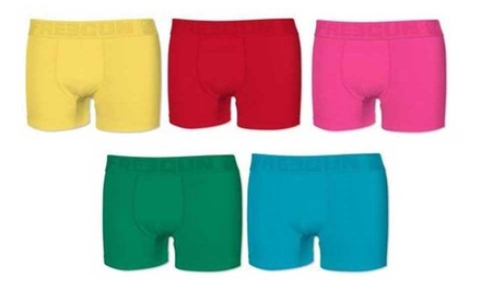 Pack de 5 boxers Freegun Ultrakolorz en coton