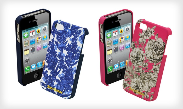 Juicy Couture Hard Case for iPhone 4/4S: $10 for a Juicy Couture Hard Shell Case for iPhone 4/4S ($34.95 List Price). Two Colors Available. Free Returns.
