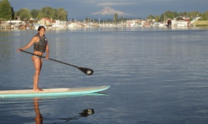 SUPortland Paddleboards: Paddleboard Rental for One or Two or Paddleboard Lesson for Two from SUPortland Paddleboards (Up to 57% Off)