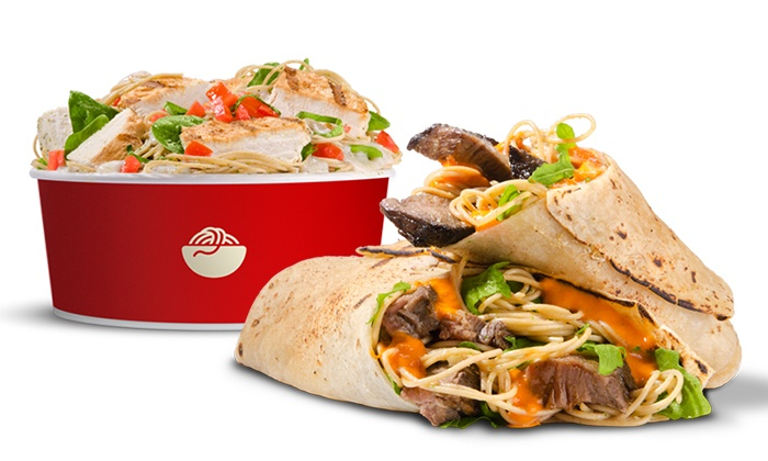 Italio - Winter Park: Pasta Bowls with Side Salads and Drinks for Two or $74 for $100 Worth of Italian Catering at Italio