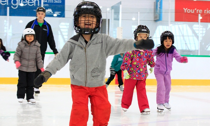 Richmond Olympic Oval - Richmond Olympic Oval: Public Ice Skating Admission with Skate Rental for One or Two at Richmond Olympic Oval (Up to 54% Off)
