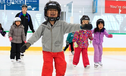 Public Ice Skating Admission with Skate Rental for One or Two at Richmond Olympic Oval (Up to 54% Off)
