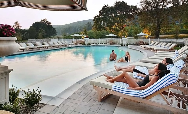 Omni Bedford Springs Resort - Bedford, Pennsylvania: Stay with $30 Resort Credit at Omni Bedford Springs Resort in Bedford, PA. Dates into October.