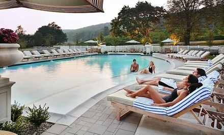Groupon Deal: Stay with $30 Resort Credit at Omni Bedford Springs Resort in Bedford, PA. Dates into October.