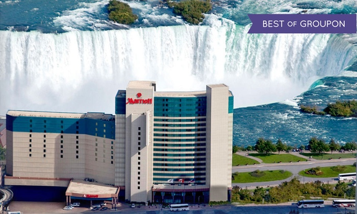 Marriott Niagara Falls - Niagara Falls, ON: Stay with Breakfast, Wine Tours, and Dining and Spa Credits at Marriott Niagara Falls in Niagara Falls, ON