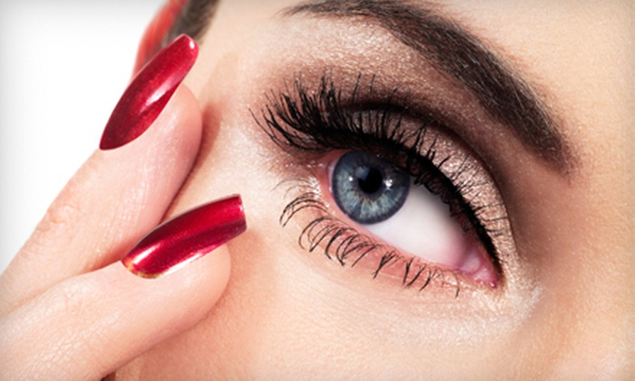 Lavish Lashes & Hair by Kim Gilbertson - Nampa: Full Set of Eyelash Extensions with Option for Touchup from Lavish Lashes & Hair by Kim Gilbertson (Up to 52% Off)