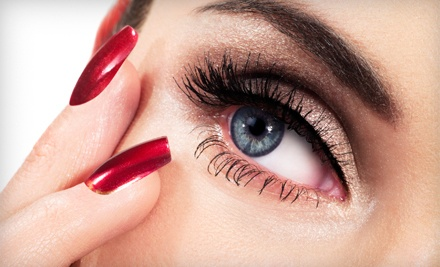 Full Set of Eyelash Extensions with Option for Touchup from Lavish Salon (Up to 52% Off)
