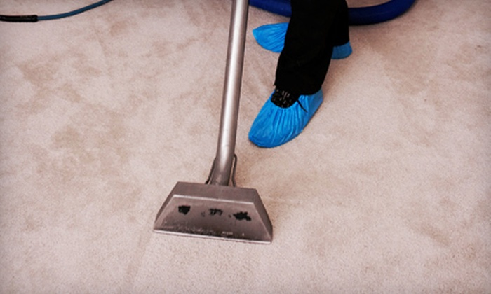 Delisle Extreme Steam - Jupiter: Steam Cleaning for Three or Five Carpeted Rooms or One Sofa or Love Seat from Delisle Extreme Steam (Up to 69% Off)