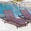Kauai Textilene Chaise Lounge (Set of 2)