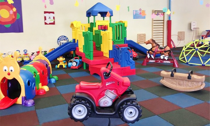 Kids' Fun Stop - West Roxbury: Five Drop-In Play Visits, Three-Month Play Pass, or Two-Hour Semi-Private Party for 10 at Kids' Fun Stop (Up to 53% Off)