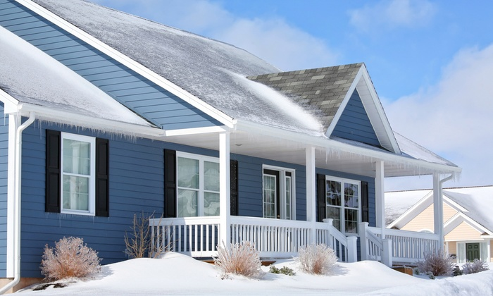 Pressure Point Cleaners - Des Moines: $90 for Roof Snow Removal from Pressure Point Cleaners ($200 Value)