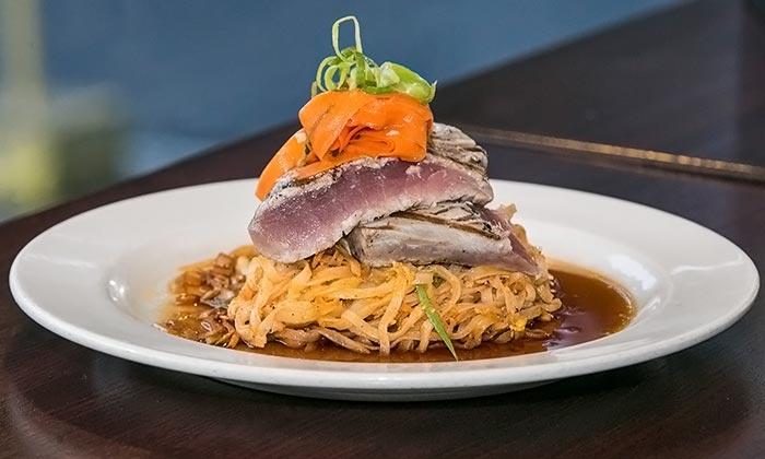 Social Restaurant & Bar - Newton Corner: Dining for Two or Four at Social Restaurant & Bar         (Up to 37% Off)