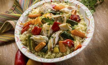 Couscous-Gericht, wahlweise Poulet oder Végétarien, für 1, 2 oder 4 Personen im LE MARRAKESH (bis zu 30% sparen*)