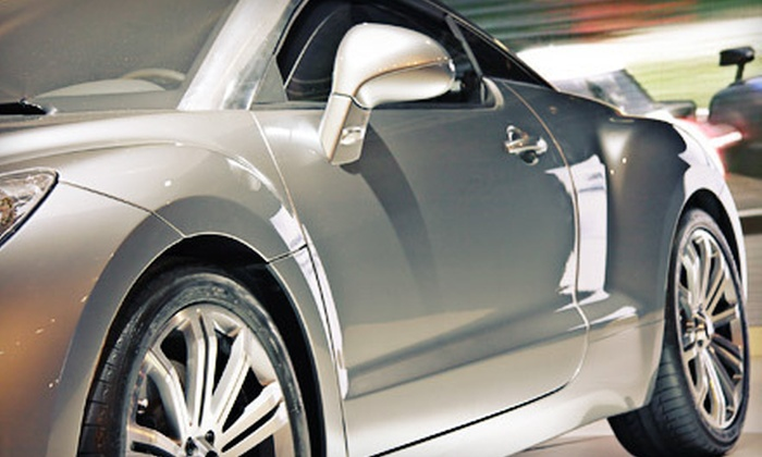 Foam Factory Hand Wash & Detail - Newtown: Auto Detailing or Hand Wax Services at Foam Factory Hand Wash & Detail (Up to 68% Off). Four Options Available.