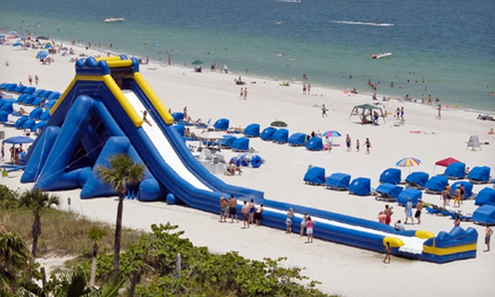 Inflatable World at the Bay - San Diego: All-Day Ride Access for One, Two, or Four at Inflatable World at the Bay (40% Off)