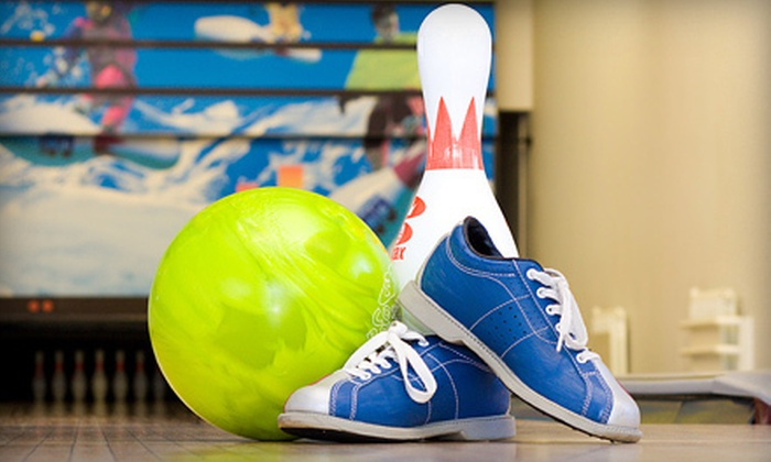 Pinz Bowling Center - Palmer Lake: 5 or 10 Games of Bowling with Shoe Rental at Pinz Bowling Center (Up to 60% Off)