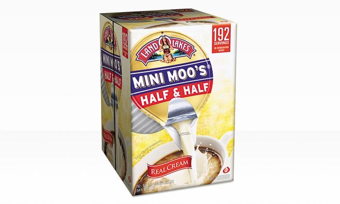 Land O Lakes Mini Moo's Half & Half Creamer (192-Count): Land O Lakes Mini Moo's Half & Half Creamer (192-Count)
