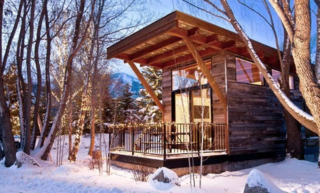Modern Log Cabins in Jackson Hole