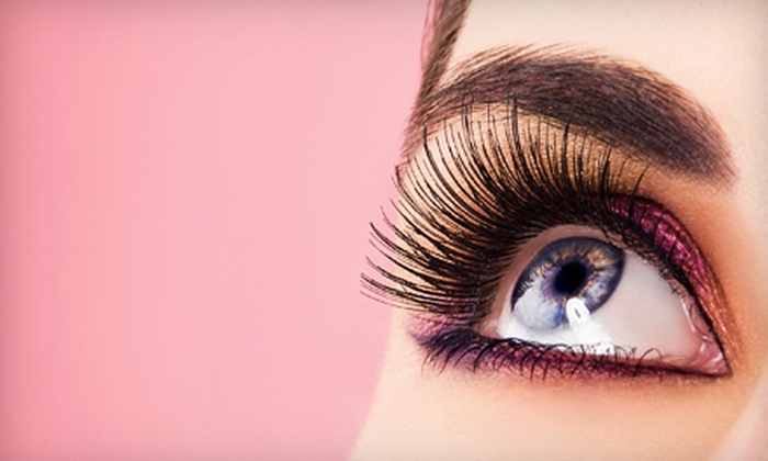 The Beauty Centre Spa & Salon - Brandon: One Full Set of Eyelash Extensions with Option for Three Touchups at The Beauty Centre Spa & Salon (Up to 64% Off)