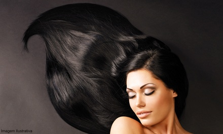 Relaxer or Haircut with Conditioning and Optional Color at Axis Salon (Up to 48% Off). Three Options Available.