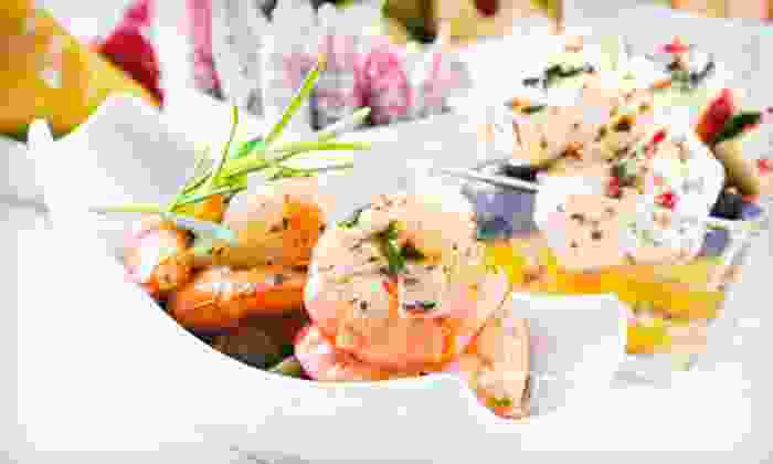 The Cazbah - Greer: $15 for $30 Worth of Tapas at The Cazbah