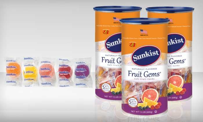 Sunkist Fruit Gems | Groupon Goods