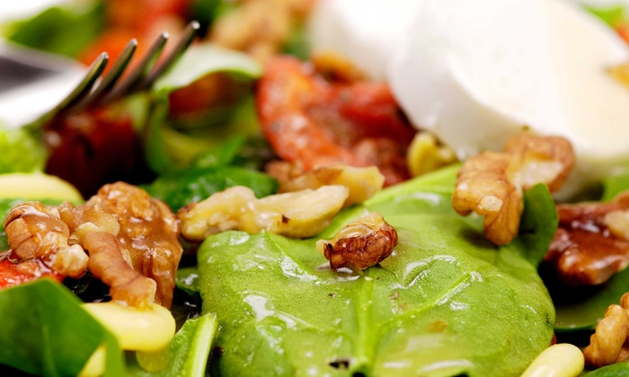D'Lish Cafe - Encanto: $14 for Two Groupons, Each Good for $12 Worth of Organic Salad and Wraps at D'Lish Cafe ($24 Value)