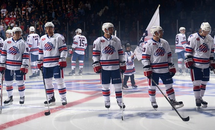 $15 for Premium 100-Level Seats to a Rochester Americans Home Game on January 2, 7, or 10 ($30.65 Value)