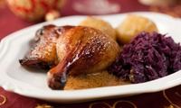 3-Gänge-Gänse-Menü für 2 oder 4 Personen im Restaurant Rosisten 2 (bis zu 45% sparen*)