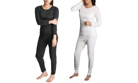 From $19 for Women's Merino Wool Thermal Loungewear