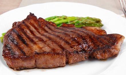 3 Gänge Menü mit Steak nach Wahl oder Salat Teller für 2 oder 4 Personen in der Gaststätte Lindenhof (38% sparen*)