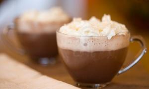 Spiga di Grano: Cioccolata calda e pasticciotto per 2, 4 o 6 persone da Spiga di Grano (sconto fino a 77%)