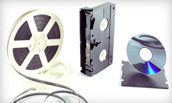 Pixcel - Northbrook: $40 for $100 Worth of Film and Video Transfers from FilmTransfer.com