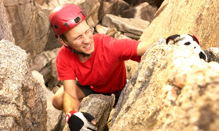 The Climbing Life Guides Inc - Inland Empire: $139 for Four Hours of Guided Rock Climbing for Two from with The Climbing Life Guides Inc. ($250 Value)