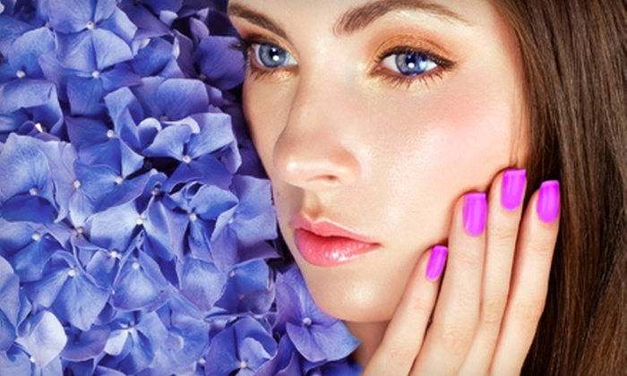 La Vie Wellness Center - Glenwood: Chip-Resistant Manicure, Facial, or Both at La Vie Wellness Center (Up to 70% Off)