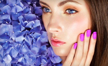 Chip-Resistant Manicure, Facial, or Both at La Vie Wellness Center (Up to 70% Off)