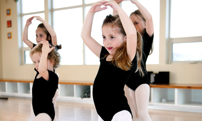 Expressions Dance - Multiple Locations: Eight Weekly One- or Two-Hour Kids' Dance Classes at Expressions Dance (Up to 55% Off)