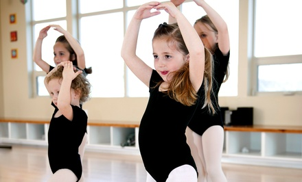 Eight Weekly One- or Two-Hour Kids' Dance Classes at Expressions Dance (Up to 55% Off)