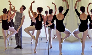 Bay Ballet Academy: One Month of Four Ballet Classes for One or Two at Bay Ballet Academy (Up to 53% Off)