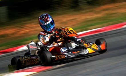$56 for 30 Outdoor Go-Kart Laps and CRKC Membership at Goodwood Kartways ($209.99 Value)