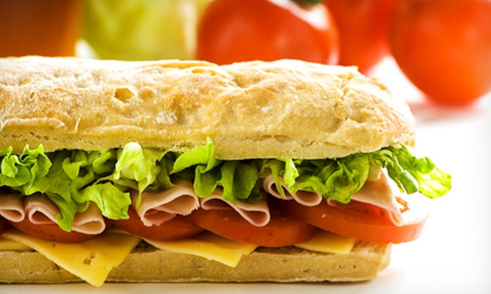 Brickhouse Subs - Pasadena: One or Two Party Platters from Brickhouse Subs in Pasadena (Half Off)