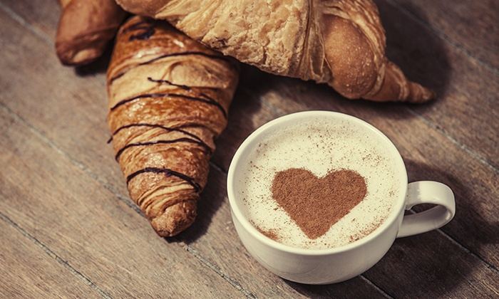 Cafe Heavenly - New Smyrna Beach: $9 for 3 Vouchers for Signature Coffee Drinks, Pastries and Croissants at Cafe Heavenly ($18 Value)