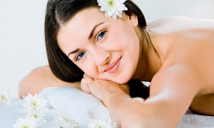 Facial massage package spa