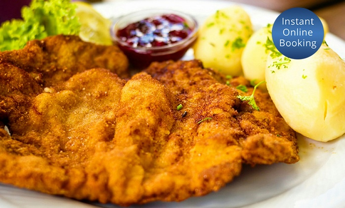 Three-Course 'Taste of Austria' Dinner for Two ($49) or Four People ($98) at Das Edelweiss, Balgowlah (Up to $171 Value)