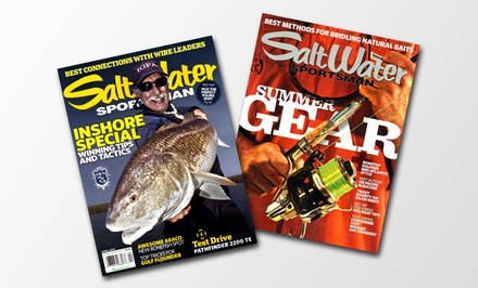 Salt Water Sportsman Magazine 1-Year Subscription