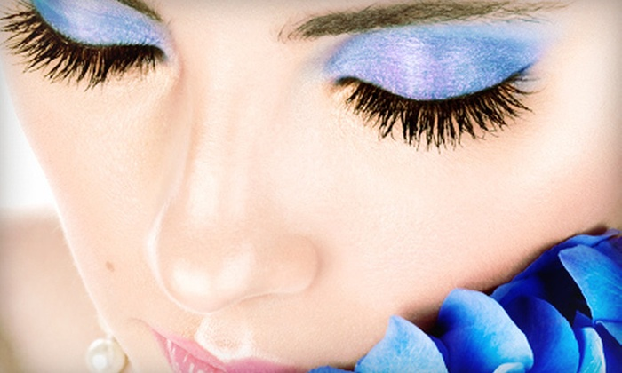 The Lash Bar - Highland: One Full Set of Eyelash Extensions with Option for Refill at The Lash Bar (Up to 65% Off)