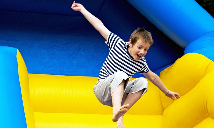 Fro-Me-A-Party Entertainment Center - Pleasantville: Five or Ten Jump Passes at Fro-Me-A-Party Entertainment Center (Up to 52% Off)